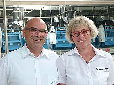 Brigitte Köppen-Börs & Carsten Börs - Ihre Ansprechpartner von Textilservice Meyer